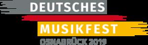 Deutsches Musikfest 2019 Logo