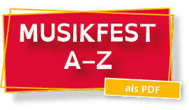 Button Musikfest A bis Z